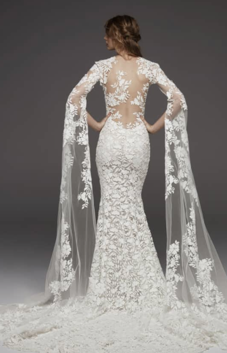 Himalaya Sleeveless Lace Gown by Altelier Pronovias Nordstrom.com