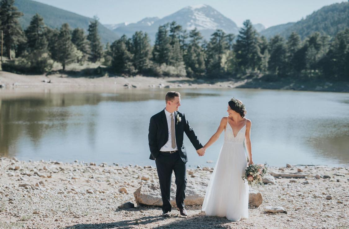 Copeland Lake Wedding Site; Rocky Mountain National Park, Colorado Photo Credit: Jill Houser Photography JillHouser.com