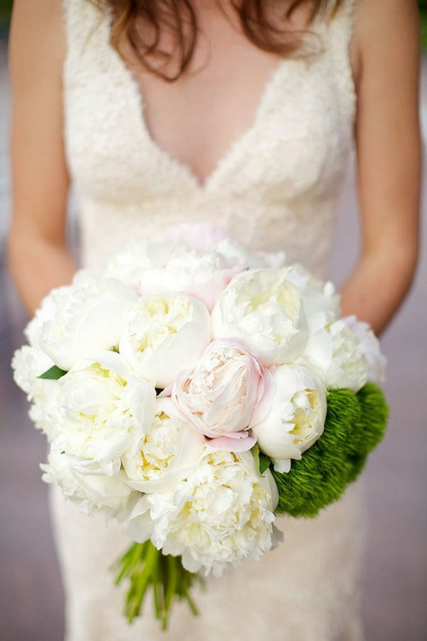 White Peonies with Pale Pink Peony...Gorgeous